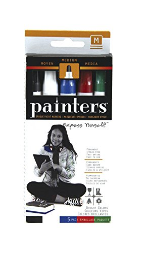 - Elmer's Painters Opaque Paint Markers, Set of 5 Markers, Bright