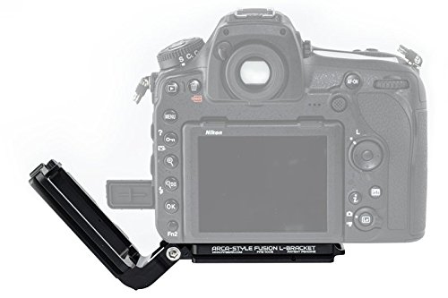 Arca-Swiss Compatible Fusion L-Bracket - Black Rapid Compatible - Color Black by Fusion Plate (Image #2)