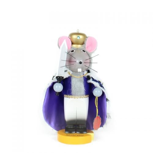 Steinbach Chubby Mouse King 12 inch German Nutcracker