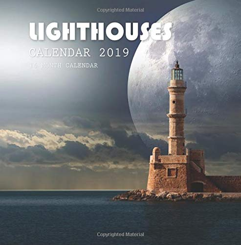Lighthouses Calendar 2019: 16 Month Calendar Paperback – September 19, 2018 Mason Landon 1727495845 PERFORMING ARTS / General
