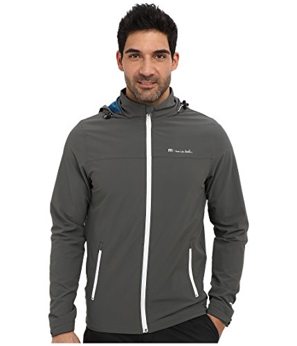 Travis Mathew Men's Delta Jacket, Dark Grey, Small by Travis Mathew