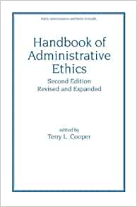 Administrative Ethics – Paper 3
