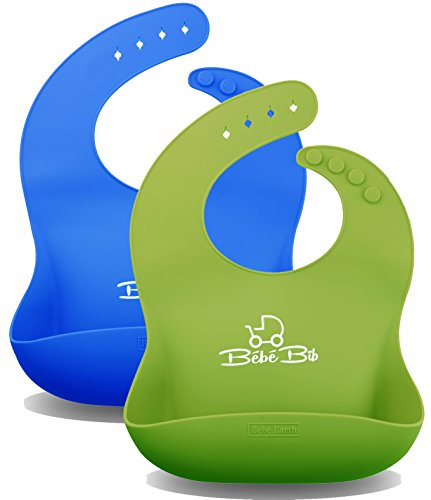 Waterproof Silicone Baby Bibs Comfortable product image