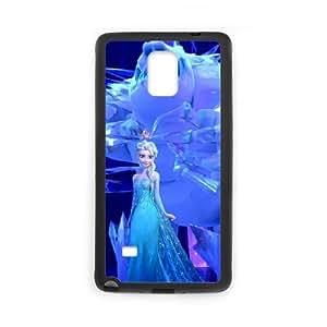 Samsung Galaxy Note 4 Cell Phone Case Black_Disney Frozen_004 Fjmkl