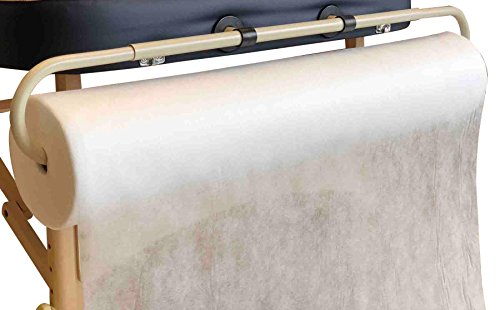 DevLon NorthWest Nonwoven Disposable Bedsheet Perforated Massage Table Sheet Facial Wax Chair Cover Sheet 295 Feet Long 31 Inch Wide
