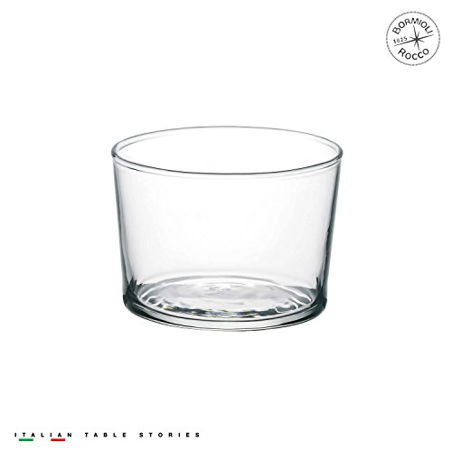Bormioli Rocco Bodega Tumbler Mini Glasses, 7.5 Ounce, Set of 12 by Bormioli Rocco