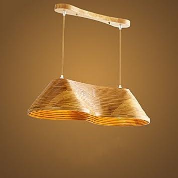 XQY Lámpara de Techo de la Sala de Estar, lámpara de caña de ...