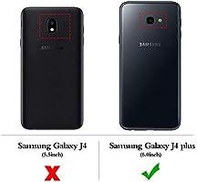 XTCASE Funda con Cuerda para Samsung Galaxy J4+ J4 Plus Silicona Transparente, Ultrafina Suave TPU Carcasa de movil con Colgante [Moda y Practico] [Anti-rasguños Anti-Choque]: Amazon.es: Electrónica