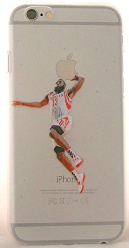 Basketball Fan Alert!!! Color-N-Splash Snap-On Cases for iPhone 6, 6s With Favorite Basketball Stars Past and Present! The