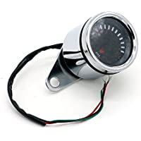 Medidor de combustible de motocicleta 12V Indicador digital