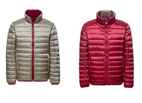 Rossa Giù Cx Caldo Puffer store Inverno Cappotto Biadesivo Packable Maschile Giacca Leggero xT4Tq1PA