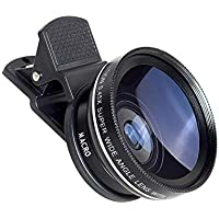 Wumedy 2-in-1 Wide Angle Macro Lens Camera