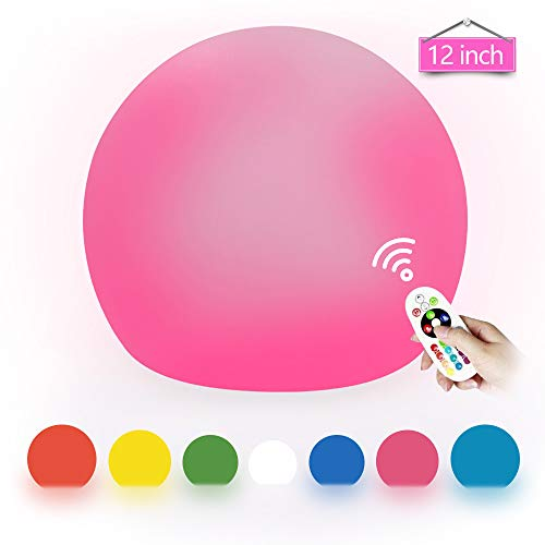 Outdoor Solar Color Changing Led Floating Lights Ball in US - 7