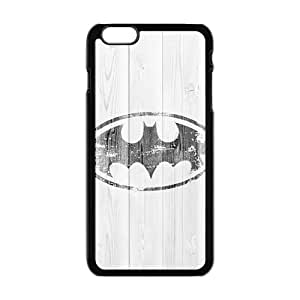 Black bat sign Cell Phone Case for Iphone 6 Plus