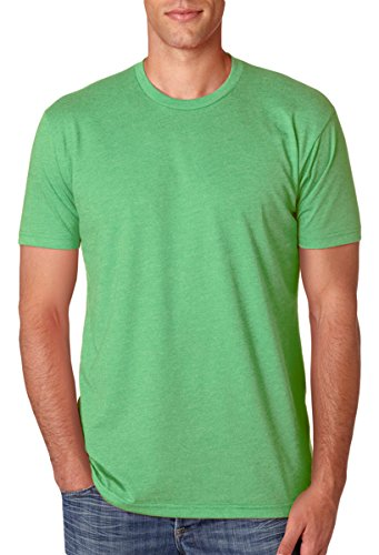 Next Level Apparel N6210 Mens Premium CVC Crew - Apple Green, Medium