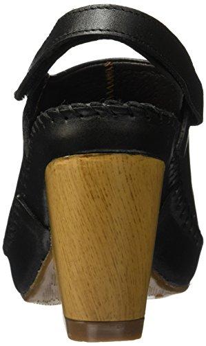 Lobo Solo Negro Sandalias de Vestir Susa 0Scp8qHzrS
