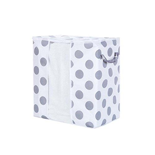 Price comparison product image Storage Bag , IEason Clearance Sale! Foldable Storage Bag Clothes Blanket Quilt Closet Sweater Organizer Box Pouches (A)