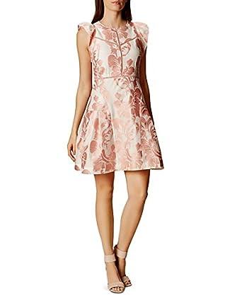 20c4148c700 Karen Millen Floral Jacquard Dress US Size 6 at Amazon Women's ...
