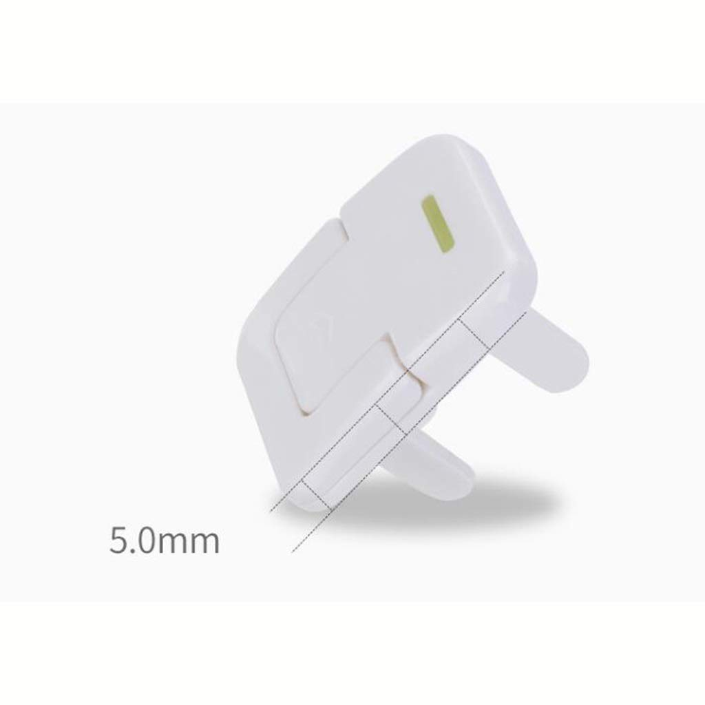 60Packs HZTWS Socket safety cover Plug Socket Cover Baby Proof Child Safety Protector Guard Mains Electrical