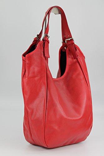 Belli, Borsa a spalla donna Rosso rosso