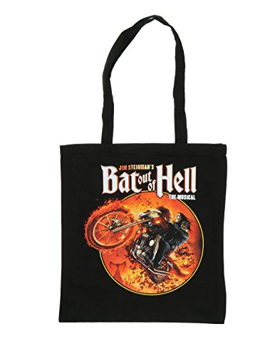Bat Out Of Hell Unisex Musical Biker Circle Tote Bag