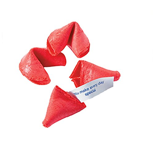 Valentine's DaY Fortune Cookies (12ct) Surprise your Loved Ones February 14th by giving them a special fortune! by OTC