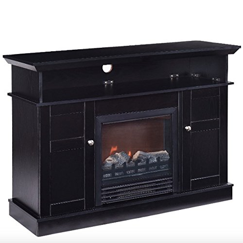 42 in tv stand fireplace - 7