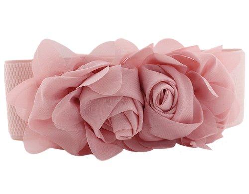 BONAMART Flower Elastic Fabric Waistband