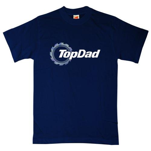 Mens Top Dad - Gear Logo T Shirt - 8Ball Originals Tees