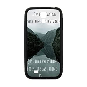 Happy john green book quotes Phone Case for Samsung Galaxy S4