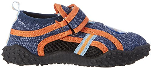 Playshoes Badeschuhe Ahoi Mit Uv-schutz - Zapatillas Unisex Niños Azul (Jeansblau)