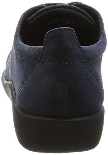 Tino 37½ Lazer Azul Tamanho Têxtil Sapatos Semi escuro Senhoras Clarks Sillian xEPRSP