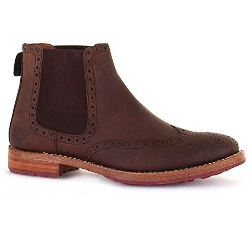 Chatham Herren Dudley Chelsea Boots Braun (Brown)