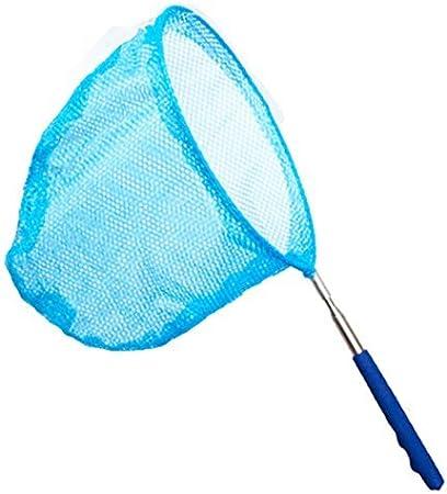 Ausziehbar Von 37 Zoll Bis 68 Zoll. Vaorwne K?Fer Netz Schmetterling Fangen Netz Fisch Netz Aus Nylon mit Teleskop Griff f/ür Erwachsene und Kinder