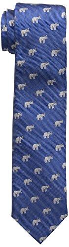 Wembley Big Boys Wembley Elephant Novelty Boys Tie, Medium Blue, OS - Elephant Necktie