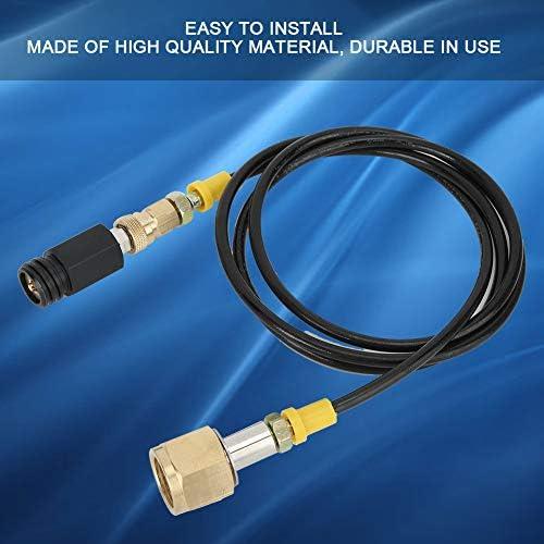 1.5m W21.8-14 DIN477 Adattatore per bombola di CO2 Kit tubo flessibile ad alta pressione Soda Accessori facili da sostituire per la macchina domestica SodaStream