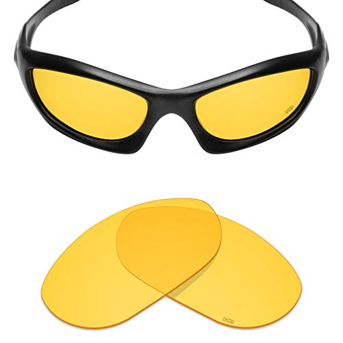 Mryok+ Polarized Replacement Lenses for Oakley Monster Dog - HD Yellow