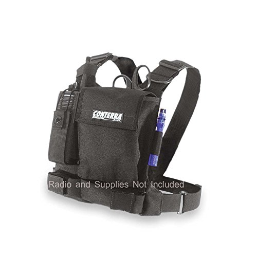 Radio Chest Harness (Black) ()