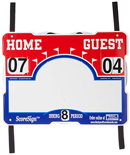ScoreSign Portable Baseball/Softball Scoreboard (Softball Baseball Scoreboards)