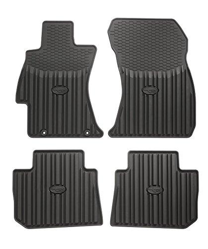 Genuine Subaru J501SVA200 Floor Mat (Subaru Impreza Rubber)