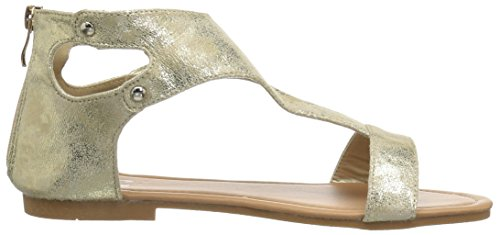 Brinley Co Women's Bliss Flat Sandal Gold uYGyvyAJ