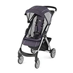 The Chicco Mini Bravo Lightweight Stroller makes every excursion simpler with user-friendly touchpoints and precise maneuverability. An easy-to-reach handle activates a compact fold with one hand and the stroller stands on its own when closed...