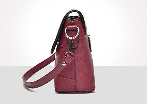 De La Meaeo Las Púrpura De Moda Nueva Hombro Bordado Del De Bolso Bolso Winered Sobre Salvajes La Bolsa Mujeres De Del 7qaz7w