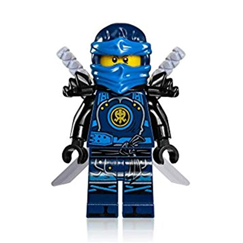 Ninjago Minifigures Ninja Jay Walker. Elemental Lightning Figure Includes Mystery Brick Mech Set. Great Toy Birthday Party Supplies. Hands Time Theme