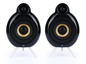 "Scandyna Micropod SE Active 10W Negro conjunto de altavoces - Set de altavoces (10 W, PC, 10 W, 20 - 20000 Hz, 6 Ω, 1,91 cm (0.75""))"