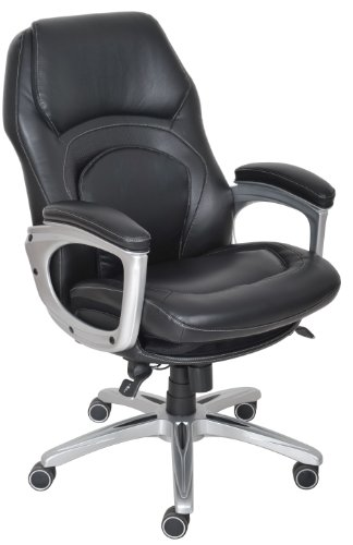 - Serta Back in Motion Health and Wellness Executive Office Chair, Black