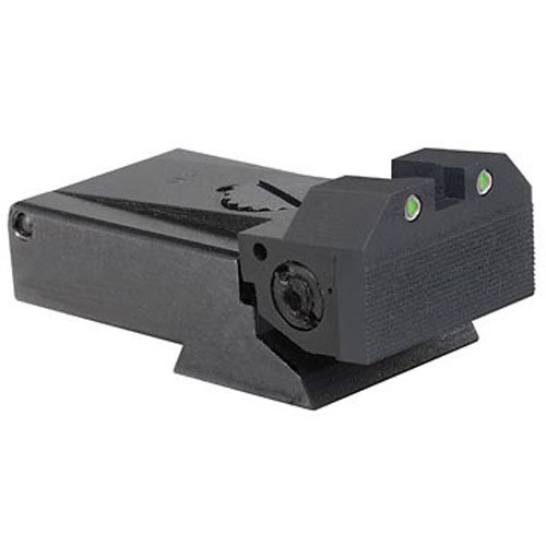 Ruger Mark II , III - Kensight Sight Trijicon Tritium insert - Night Sights with Beveled Blade