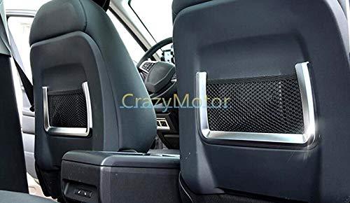 2pcs/set Interior Seat Storage Net Bag Cover Trim For Land Rover Range Rover Sport 2014 2015 2016 car styling
