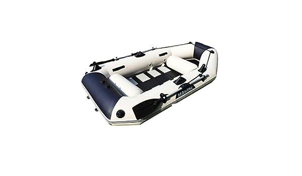 Espesar Lancha Inflable Kayak aerodeslizador para 3 Personas Bomba ...