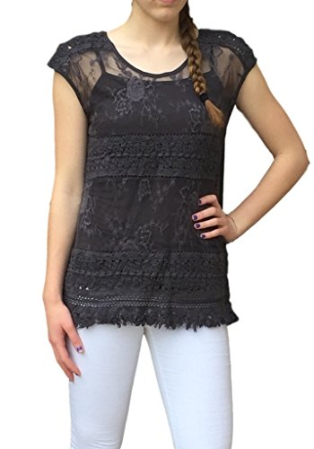 Layered Lace Top - 8